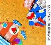 summer holiday   Shutterstock . vector #675297709