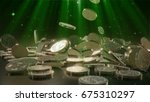 bitcoin currency  crypto...   Shutterstock . vector #675310297