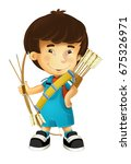 cartoon happy and funny boy  ... | Shutterstock . vector #675326971