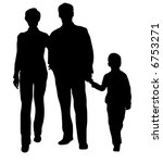 family with son vector | Shutterstock .eps vector #6753271
