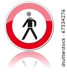 road sign | Shutterstock . vector #67534276