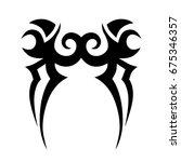 tattoos ideas designs   tribal... | Shutterstock .eps vector #675346357