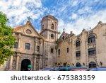 San Agustin Church  A Roman...