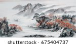 Landscape Painting.traditional...