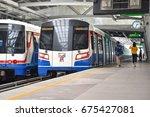 bangkok   april 29  the bangkok ...   Shutterstock . vector #675427081