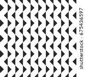 retro memphis geometric shapes... | Shutterstock .eps vector #675436597