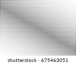 abstract halftone dotted... | Shutterstock .eps vector #675463051