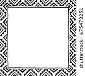 square frame  background ... | Shutterstock .eps vector #675473251