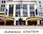 cleveland  ohio   november 1 ... | Shutterstock . vector #675477079