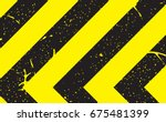 line yellow and black color...   Shutterstock .eps vector #675481399
