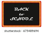 illustration for day back to... | Shutterstock .eps vector #675489694