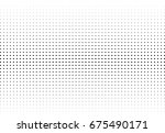 abstract halftone dotted... | Shutterstock .eps vector #675490171