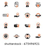 quality web icons for user... | Shutterstock .eps vector #675496921