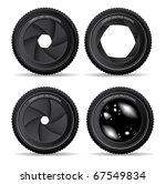 shutter apertures   Shutterstock .eps vector #67549834