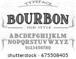 font.alphabet.script.typeface... | Shutterstock .eps vector #675508405