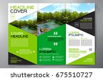 business brochure. flyer design.... | Shutterstock .eps vector #675510727