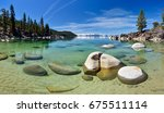 Secret Cove (Lake Tahoe), Nevada, USA - stock photo