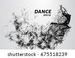 Dance Of The Particles. Girl...