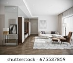 modern urban contemporary... | Shutterstock . vector #675537859