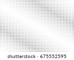 abstract halftone dotted... | Shutterstock .eps vector #675552595