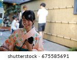 kyoto  japan   july 1  2017 ... | Shutterstock . vector #675585691