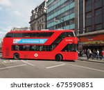 london  uk   circa june 2017 ... | Shutterstock . vector #675590851
