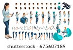 Isometric Set Of Gestures Of...