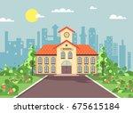 stock vector illustration back...   Shutterstock .eps vector #675615184