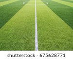 photo of a green synthetic... | Shutterstock . vector #675628771
