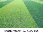 photo of a green synthetic... | Shutterstock . vector #675629155