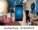 chiang mai  thailand   feb 13... | Shutterstock . vector #675635419