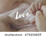 family parentage home love... | Shutterstock . vector #675656839