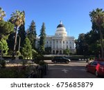 a view of the street in front... | Shutterstock . vector #675685879
