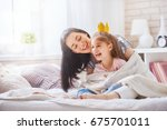 Happy Loving Family. Mother An...