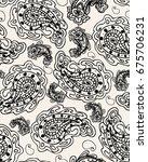 paisley.seamless vector pattern.... | Shutterstock .eps vector #675706231