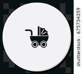pram icon.   Shutterstock . vector #675734359