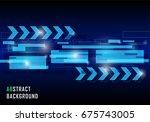 illustration abstract...   Shutterstock . vector #675743005