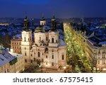 Old Town In Prague At...