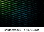 light blue  green vector... | Shutterstock .eps vector #675780835