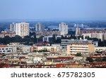 zagreb  croatia   may 31 ... | Shutterstock . vector #675782305