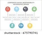 corporate social responsibility ...   Shutterstock .eps vector #675790741