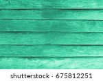 green wood wall texture and... | Shutterstock . vector #675812251