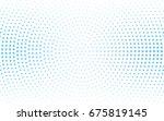 light blue vector abstract... | Shutterstock .eps vector #675819145