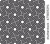 vector seamless pattern. modern ...   Shutterstock .eps vector #675835291