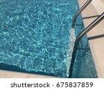 swimming pool | Shutterstock . vector #675837859