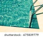 swimming pool | Shutterstock . vector #675839779