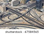 Transport Interchange In Dubai...
