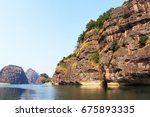 river bank in geo park mounts... | Shutterstock . vector #675893335