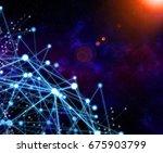 global network  internet... | Shutterstock . vector #675903799