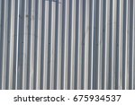metallic white relief coating... | Shutterstock . vector #675934537